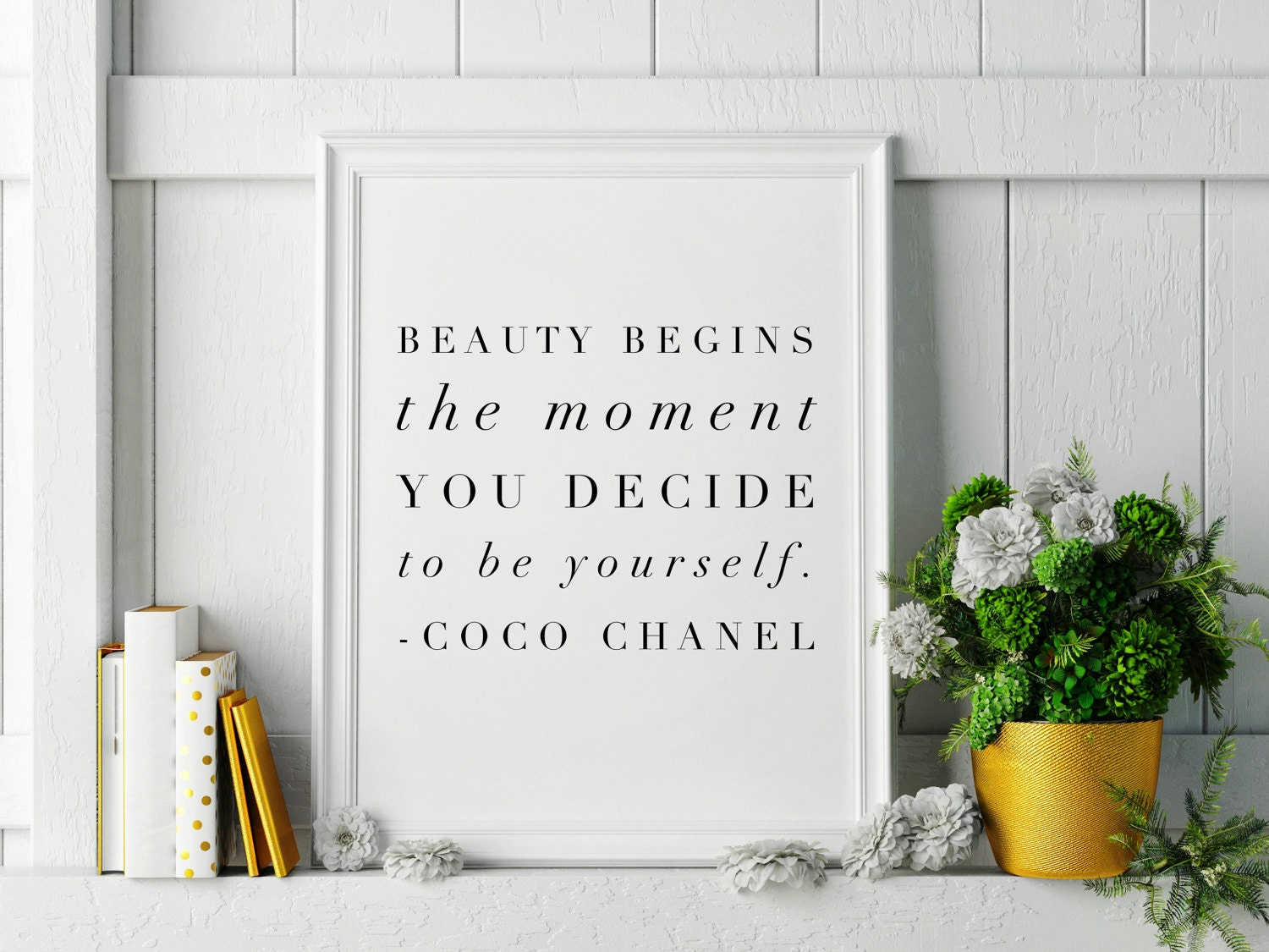 Beauty begins coco chanel quote minimalist high fashion wall beauty begins coco chanel quote minimalist high fashion wall art home decor chanel artwork chanel wall art quote wall art 2 sizes amipublicfo Gallery