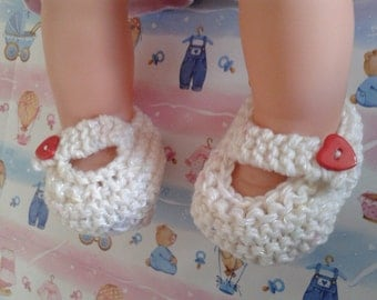 "Handmade ballet flat ""KELLY"", 3- 9 months old girl; knitted with skin-gentle special yarn for babies."