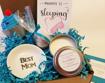 New Mom Gift Box. New Mother Gift Basket. Tired Mom Gift Box. Mom