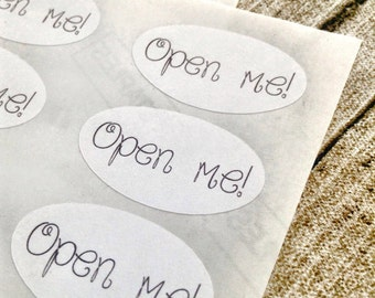 80 Open me stickers. Open me seals. Open Envelope seals. Open me sticker. Thanks envelope seal. Open Wedding
