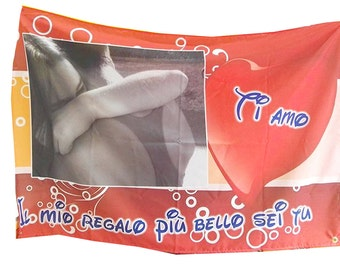 Banner with a dedication personalized 70x100 cm