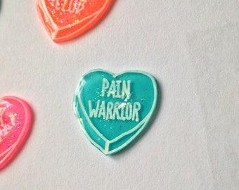 Pain Warrior pin
