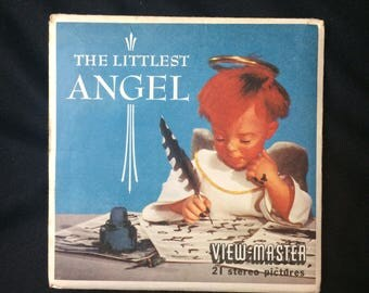 The Littlest Angel Vintage Sawyer's View Master Packet 3 reels + booklet B 381 1957 by Charles Tazewell