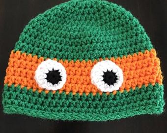 Baby Ninja Turtle Hat