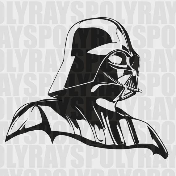 fabuleux darth vader svg pochoir star wars tlchargement immdiat kv69 - Pochoir Dark Vador