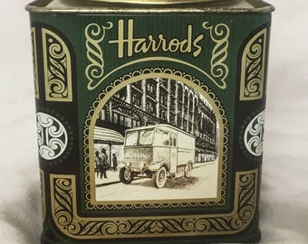 Harrods Tea Tin