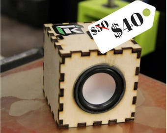 Bluetooth Speaker DIY Kit -*SALE* Build Your Own Portable Speakers, iPhone Speaker, Wooden Speaker, Gift for Him or Her, Personalized