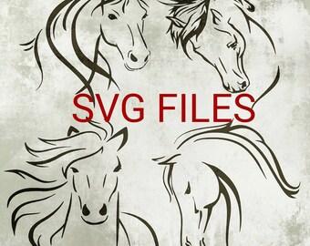 Horse Svg Files - Horse Designs for Cricut