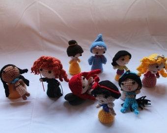 Disney Princess Amigurumi Doll - Crochet