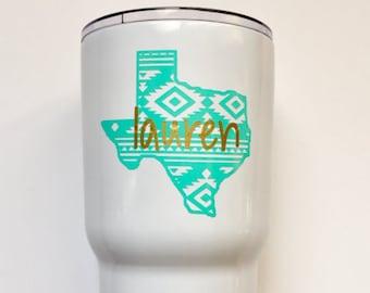 Aztec Texas with Name