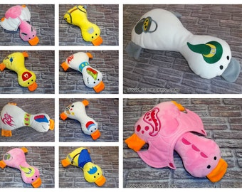 Items Similar To Rabbit Or Duck Pillow Novelty Pillow