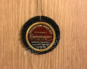 Copenhagen aroma bead air freshener dip can car freshener