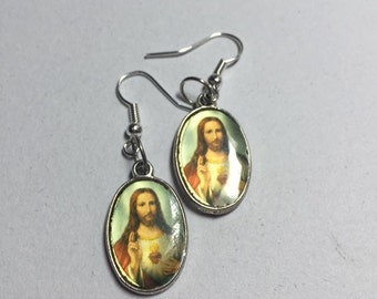 Jesus Earrings