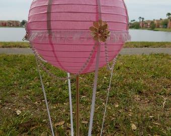 hot air ballon center piece