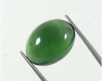 15x11 mm. Charming!! Natural Serpentine cabochon. Serpentine gemstone. Green Serpentine loose gemstone. Serpentine jewelry use -02