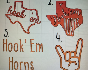 University of Texas Decal Sticker