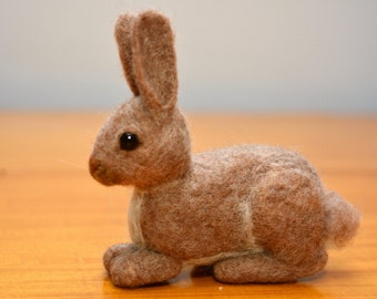Ready to ship Needle felted Baby Bunny