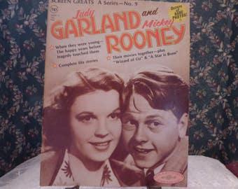 1972 Screen Greats Judy Garland and Mickey Rooney