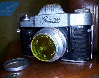 Vintage camera Crystal (Кристалл)