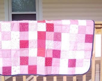 Square Patchwork Lap Quilt