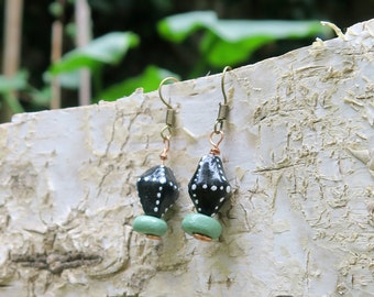 Dotted earrings