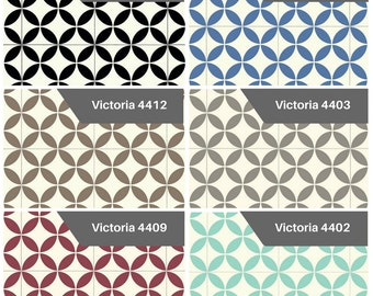 Cushion Vinyl Flooring Samples - Victoria Collection