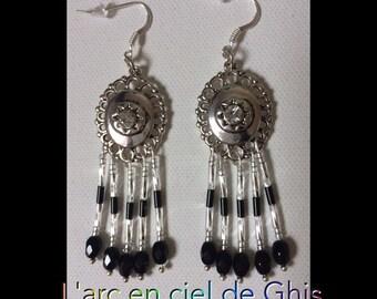Style dream catcher earrings.