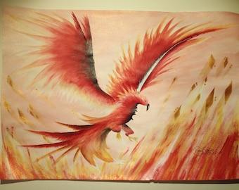 Burning Phoenix (original)