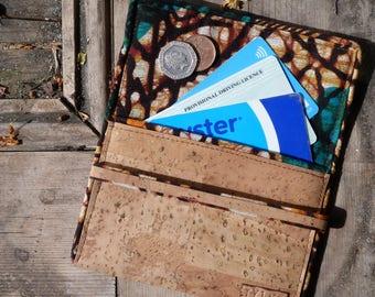 Cork pouch // coin purse // multi-purpose wallet