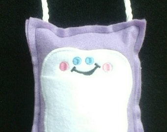 Lavender Tooth Fairy Pillow ready to ship cute tooth pillow