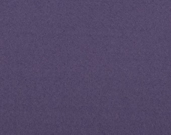 Felt - craft felt purple / violet 1 mm 40 x 45 cm