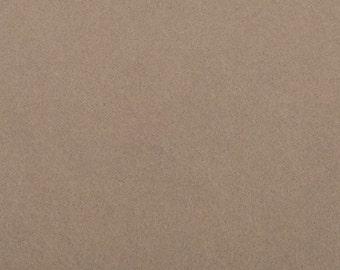 Felt - craft felt Brown / Café latte / coffee 1 mm 40 x 45 cm