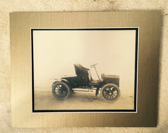Original Photograph of an early 1900's Automobile