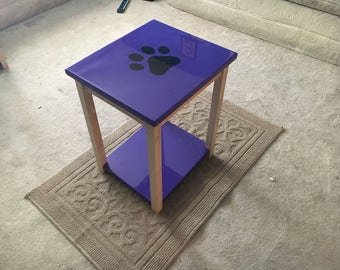 Custom, End tables, Logo,