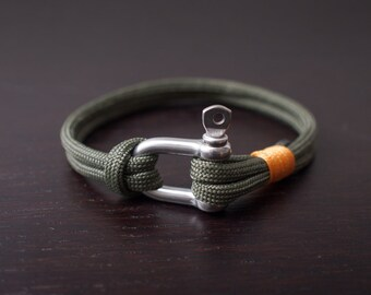 Army green bracelet | paracord bracelet | Mens bracelet | Womens bracelet | Elk City | Army bracelet | lumberjack bracelet |Bad James