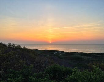 Steps Beach Sunset