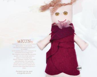handmade cloth doll, saKUNa