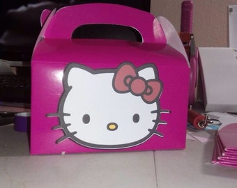 Hello kitty  treat box, for party favors