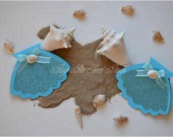 Under the Sea Invitations / Mermaid Invitations / Ocean of Fish Invitations
