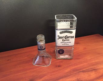 Jose Cuervo Especial Tequila Silver Bottle Soy Candle. 750ML. Made To Order