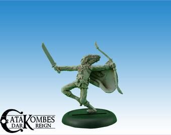 Miniature hero: Feanor the elf