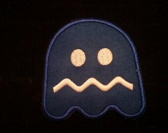Vintage arcade Pacman dazed ghost patch
