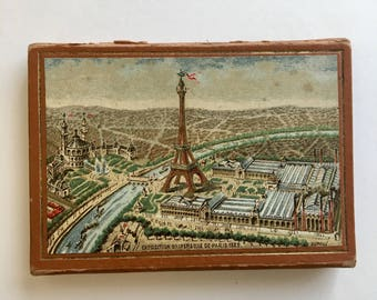 Vintage Paris Exhibition Needle Case