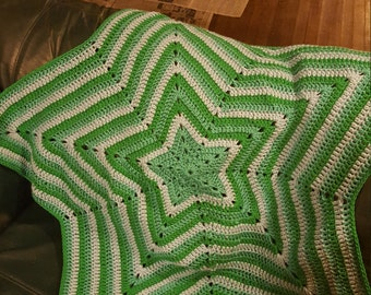 Star shaped Afghan