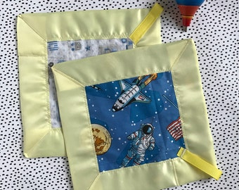 Major Tom Lovey blanket-security blanket-sensory blanket-baby shower gift