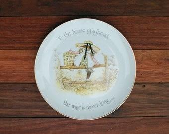 1974 Holly Hobbie Plate