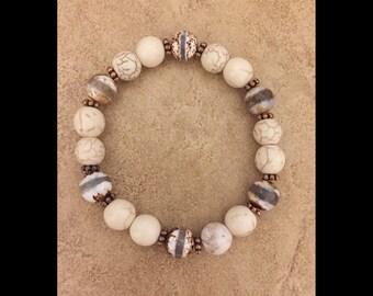 Tibetan  Agate Gemstone Bracelet
