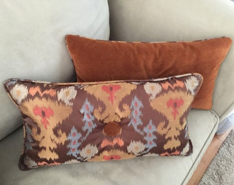 Custom decorative lumbar pillows