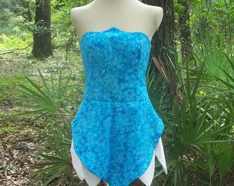 Fairy Costume inspired by Periwinkle - Available in Any Size from Petite to Plus Size - Custom Made Periwinkle Cosplay Fairy Dress