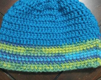Bulky, Slouchy Crochet Hat
